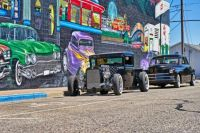 Mural and the Hotrods