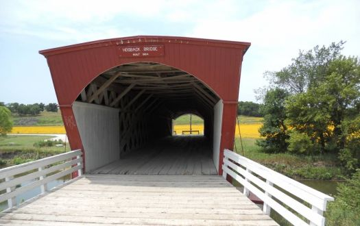 Hogback Bridge, Madison County, Iowa