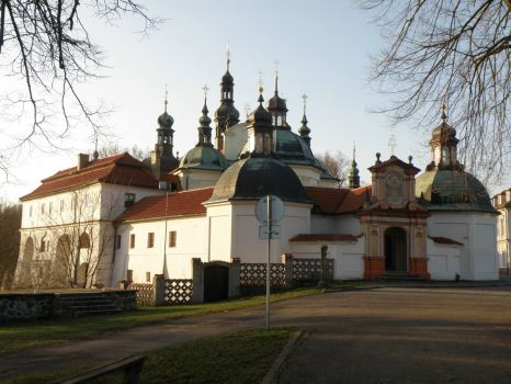 Klokoty monastery in Tabor - Czech republic