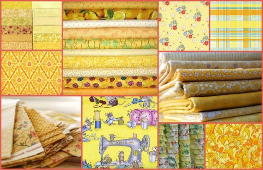 Yellow Fabrics - small