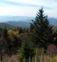 A classic view of the Great Smokies