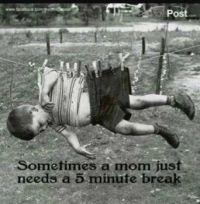 I need 5 minutes
