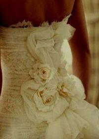 Theme: Wedding Dresses rose bustle