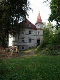 Krásný dům s nedostatečnou údržbou Belle maison de manque d'entretien