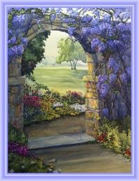 Garden Gate by Esther Maresso-Langlois