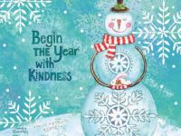Begin the Year with Kindness