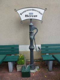 Public well for a town-neighborhood, Xanten, Germany
