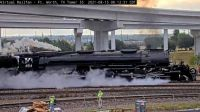 """""""steamer"""" UP-4014 at Ft Worth TX/USA  45-pc"""