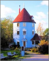 The Moomin House with more pieces