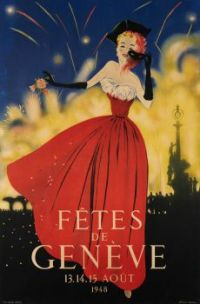 Themes Vintage illustrations/pictures - Carnival Geneve 1948