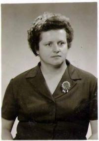 Babička moravská-za mlada