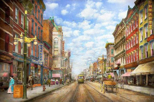 Main Street Poughkeepsie, NY in 1906