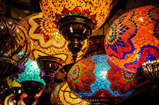 brightly lamps