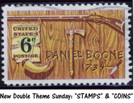 "New Double Theme Sunday: ""STAMPS"" & ""COINS""  Should  be fun."