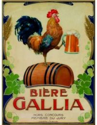 Themes Vintage ads - Gallia Beer
