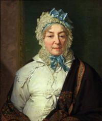 Borovikovsky - Portrait of Ye. A. Arkharova (1820)