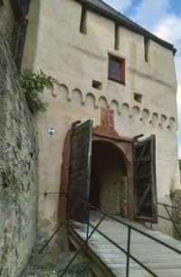 "Entry into Marksburg Castle,"" Germany"