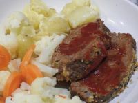 Meatloaf and Veggies