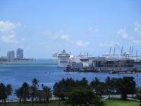 Port of Miami Florida Cruise Ship area