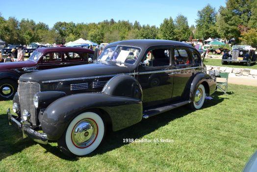 1938 Cadillac Series 65 Touring Sedan