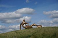 Henry Moore Scupture, England
