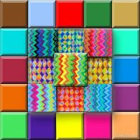 5x5 Colorful Mosaic Puzzle