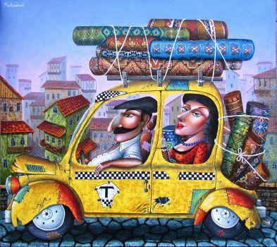 Folk Art, Zurab Martiashvili, artist