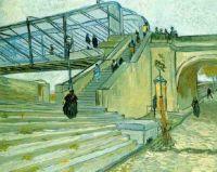 Trinquetaille Bridge - Van Gogh 1888
