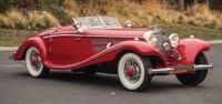 1937 Mercedes Benz 540K Special Roadster 1 of 26 sold $9.9 million