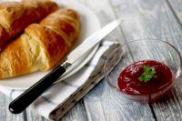 croissants snídaně