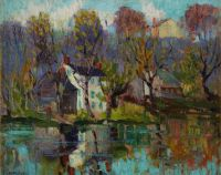 Reflections, October; by Fern Isabel Coppedge