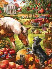 Autumn Farm by Larry Jones
