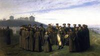 "Jean-Léon Gérôme, ""Recreation in a Russian Camp"", 1855"