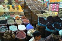 Market stall at Aswan, Egypt