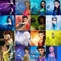 Elsa with Different Powers