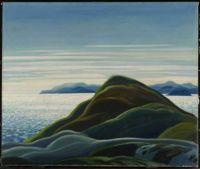 North Shore, Lake Superior by Franklin Carmichael