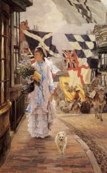 A-Fete-Day-At-Brighton by James Jacques Tissot