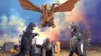 king ghidorah and friends