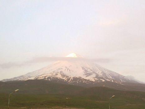 Alborz range Peak Damavand