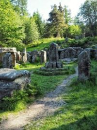 Druid's Temple, Ilton, Swinton, Yorkshire. England  4240