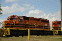 Train in Grant, Michigan