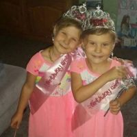 My beautiful granddaughters 5th birthday