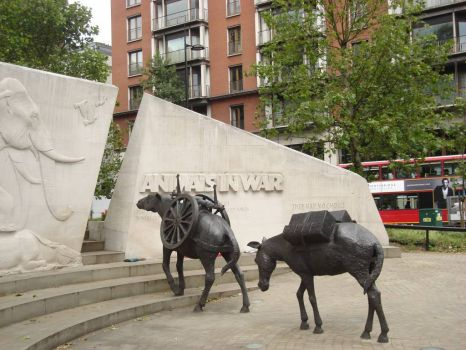 Animals In War Memorial_London