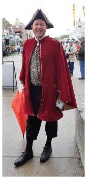 Tulip Festival Costumes, Town Crier