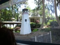 Little Lighthouse in Backyard Mt. Dora FL