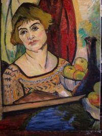 Suzanne Valadon Artwork  -  1927  'Reflection'