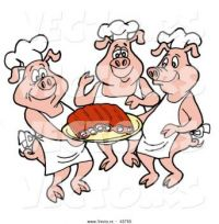 THEE 3 PIGS CLIP ART 160