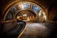 Unused New York City subway station