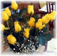 Oh, the yellow rose of Texas . . .