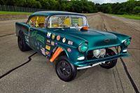 1955 Bel Air gasser